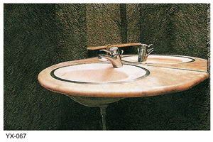 granite countertop sink
