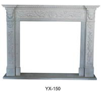 China granite fireplace