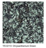 Chrysanthemum Green granite