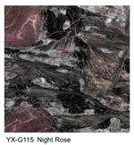 Night Rose granite