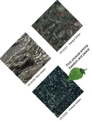 Rich Green granite