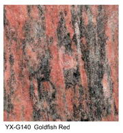 Goldfish Red granite