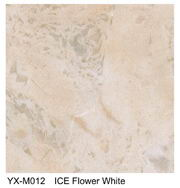 Ice Flower White marble