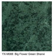 Big Flower Green marble